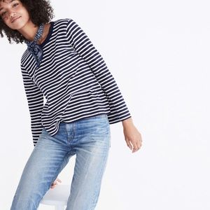 Madewell River and Thread Bell Sleeve Tee